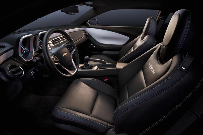 2012 Camaro V6 Gets 323 Horsepower