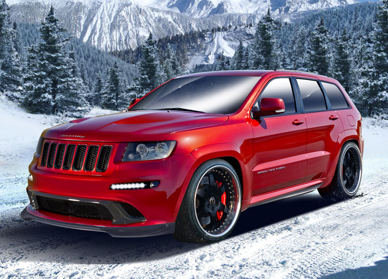 Hennessey Jeep Grand Cherokee Srt8 Hemi Twin Turbo
