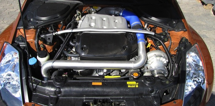 Supercharged Nissan 350Z with 405 horsepower