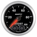 Autometer Elite Gauges (Boost Gauge 0-100psi) Auto Meter 5606