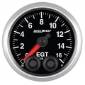 Autometer Elite Gauges (Exhaust Gas EGT Gauge 0-1600F) Auto Meter 5646