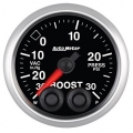 Autometer Elite Gauges (Vacuum/Boost Gauge 30hg/30psi) Auto Meter 5677