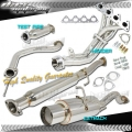 DNA Motoring Acura Integra Full Exhaust [LS/RS/GS] (94-01) 3 Piece