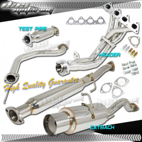 Dna motoring acura integra full exhaust ls rs gs 94 01 for Dna motoring exhaust civic