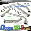 DNA Motoring Dodge Neon SRT-4 Exhaust (03-05) CBE-DNSRT4-D