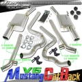 DNA Motoring Ford Mustang V6 Dual Exhaust (05-10) CBE-FM05-V6