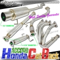 DNA Motoring Honda Accord Full Exhaust (94-97) 3 Piece