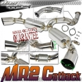 "DNA Motoring Toyota MR2 Turbo 3"" Exhaust (90-95) CBE-MR2"