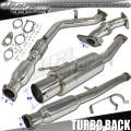 DNA Motoring Subaru WRX/STI Turboback Exhaust (02-07) TBE-WRX02