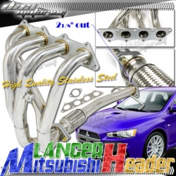 DNA Motoring Mitsubishi Lancer Header [ES/LS/OZ] (02-06) HDS-ML02
