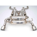 Invidia Gemini Exhaust Nissan 370Z [Stainless Tips] (09-10) HS09N7ZGIS