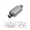 "Magnaflow 91004D Catalytic Converter (2"" in/out - 9"" Body) Diesel Oval"