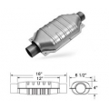 "Magnaflow 94006D Catalytic Converter (2.5"" in/out - 12"" Body) Diesel Oval"