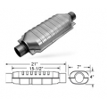 "Magnaflow 95009D Catalytic Converter (3"" in/out - 15.5"" Body) Diesel Oval"