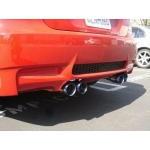 Megan Racing Axle Back Exhaust BMW E92 M3 Blue Titanium Tip (08-11) MR-ABE-BE92M3-BT