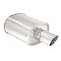 Megan Racing Muffler M-OE (3.5&quot; Tip, 2.5&quot; Inlet) MR-MU-MOE25