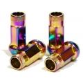 Muteki SR48 Open End Lug Nuts Neon (12x1.25 48mm) 32905N