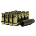 Muteki SR48 Open End Lug Nuts Titanium (12x1.25 48mm) 32905T