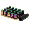 Muteki SR48 Open End Lug Nuts Neon (12x1.50 48mm) 32906N