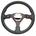 NRG Two Button Steering Wheel (320mm) Suede or Leather