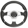 NRG EVO Steering Wheel Leather (320mm - Chrome trim) ST-008R