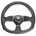 NRG Flat Bottom Steering Wheel (320mm) Suede or Leather