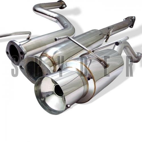 Spyder Acura Integra Exhaust GSR Dr CATAIDGSRC - 1994 acura integra exhaust system