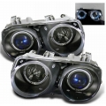 Spyder Acura Integra Projector Headlights (94-97) Halo Black