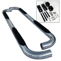 "Dodge Ram 98-01 1500 Quad Cab 3"" Stainless Side Step Bar"