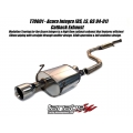 Tanabe Medalion Touring Acura Integra Exhaust [RS/LS/GS Coupe] (94-01) T70001