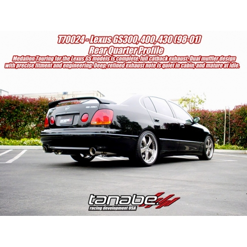 Tanabe Medalion Touring Lexus GS430 Exhaust (98-05) T70024