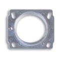 Vibrant Mass Air Flow Sensor Adapter Plate for Nissan applications 1997