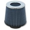 "Vibrant ""Open Funnel"" Performance Air Filter (2.5"" inlet I.D.) - Chrome Cap 1921C"
