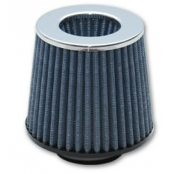 "Vibrant ""Open Funnel"" Performance Air Filter (2.5"" inlet I.D.) - Chrome Cap 1921C"