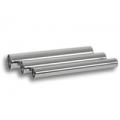 "Vibrant 2"" O.D. Aluminum Straight Tubing, 18"" Long - Polished 2885"