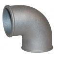 "Vibrant 2"" O.D. 90 degree Tight Radius Aluminum Elbow 2872"