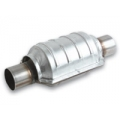 """Vibrant Oval Ceramic Core Catalytic Converter (2"""" inlet/outlet) 7002"""