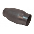 "Vibrant Round Metal Core Catalytic Converter 2.25"" inlet/outlet 7100"