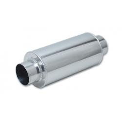 """Vibrant Aluminum Race Muffler 3"""" inlet/outlet x 14"""" long 12900"""