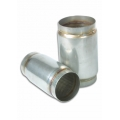 """Vibrant Stainless Steel Race Muffler 3"""" inlet/outlet x 5"""" long 17695"""