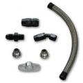 "Vibrant Turbo Oil Drain Kit for GT series Top Mount turbo setups (20"" long line) 10283"