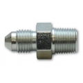 "Vibrant -4AN to 1/8"" NPT Straight Adapter Fitting - Steel 10292"