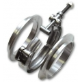 "Vibrant Stainless Steel V-Band Flange Assembly for 2"" O.D. Tubing 1488"
