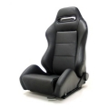 Yonaka Ronin Leather Racing Seat (Black or Red Stitch) YMRS001