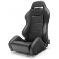 Yonaka Ronin Synthetic Leather Racing Seat (Black Leather) YMRS002