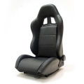 Yonaka Samurai Leather Racing Seat (Black or Red Stitch) YMRS004