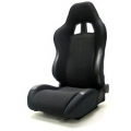 Yonaka Samurai Suede Black (synthetic) Racing Seats YMRS008