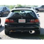 Yonaka Exhaust Catback Honda Civic Hatch CX/DX (96-00) YMCB005